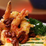 Honey Glazed Walnut Prawns